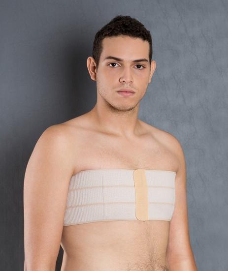 Cod. 4034-3 GOMOS. FAIXA ABDOMINAL DE ELÁSTICO VELCRADO, MODELOS COM 3, 4, 5, 6 e 7 GOMOS. Auxilia no pós operatório de lipoaspiração de flancos, abdômen, gastroplastia, hérnia e ginecomastia.