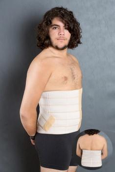 Cod. 4036. CINTURITA DE ELÁSTICO VELCRADO, MODELOS COM 5, 6 e 7 GOMOS.Auxilia afinar a cintura, correção da postura e pós cirurgias.
